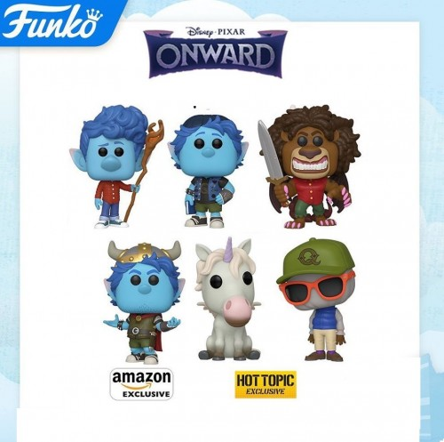 Funko Pop Set Onward - 6 Pops-Funko-1