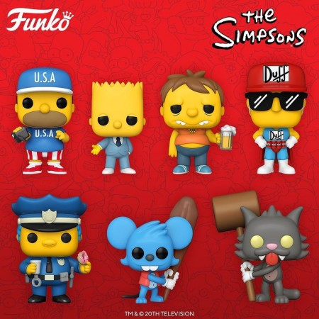 Funko Pop Set Simpsons - 7 Pops-Os Simpsons-1