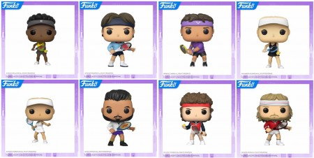 Funko Pop Set Tennis Legends - 8 Pops - Toy Fair 2020-Funko-1
