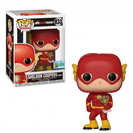 Funko Pop Sheldon Cooper As Flash Excl. Sdcc 2019-The Bing Bang Theory-833