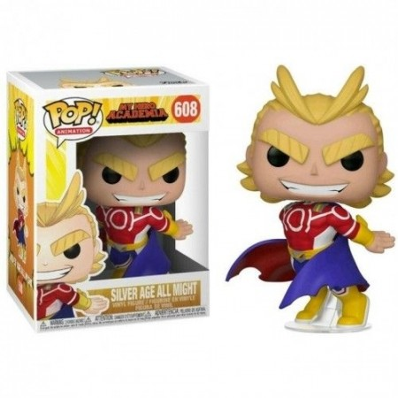 Funko Pop Silver Age All Might-My Hero Academia-608