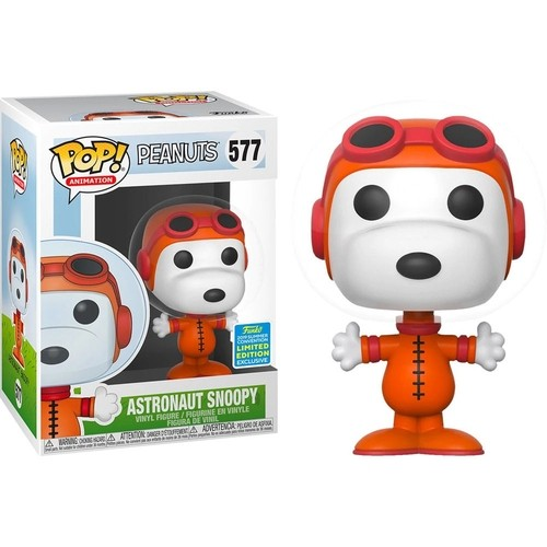 Funko Pop Snoopy Astronauta Exclusivo Sdcc2019-Peanuts-577