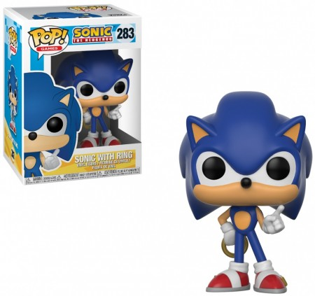 Funko Pop Sonic With Ring-Sonic The Hedgehog-283