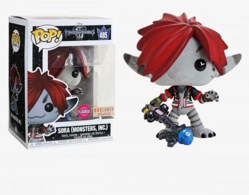 Funko Pop Sora Flocked - Exclusivo Boxlunch-Disney-485
