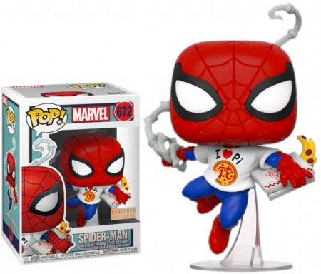 Funko Pop Spider Man Exclusivo Boxlunch-Spider-man-672