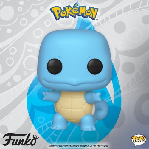 Funko Pop Squirtle-Pokemon-504