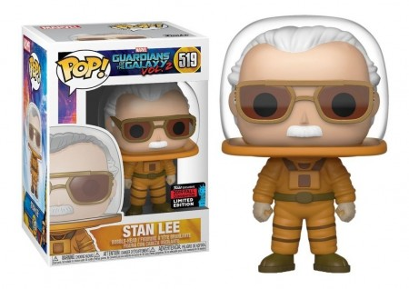 Funko Pop Stan Lee Astrounaut Excl. Nycc2019-Guardiões da Galáxia Vol 2-519