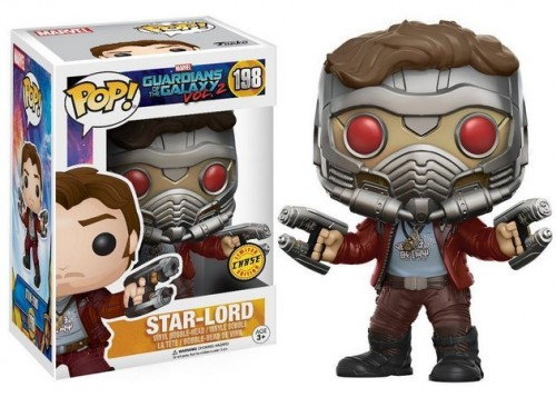Funko Pop Star Lord Chase-Guardians Of The Galaxy-198