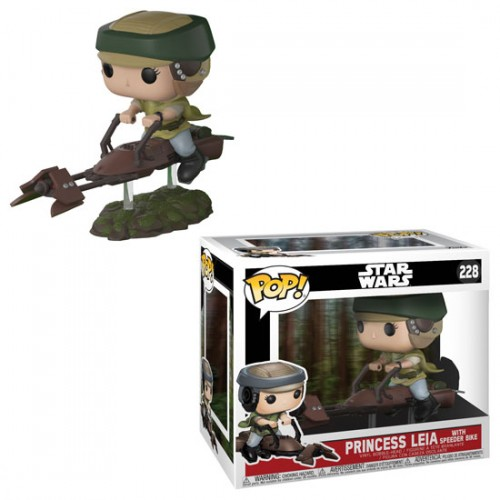 Funko Pop Star Wars Princess Leia With Speeder bike-Stars Wars-228