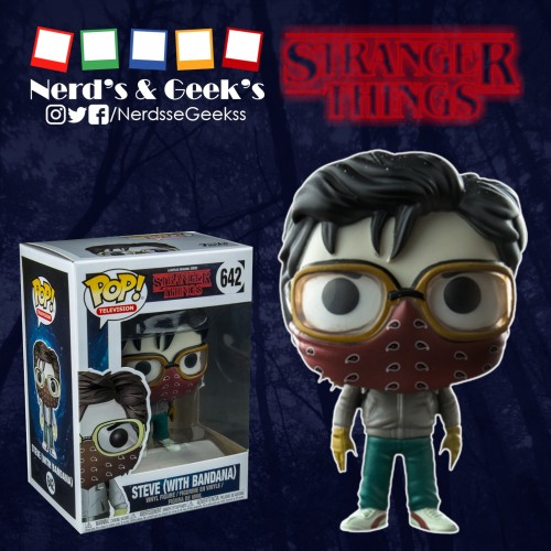 Funko Pop Steve Bandana Exclusivo Hottopic-Stranger Things-642