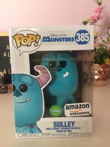 Funko Pop Sulley Flocked-Monstros S.A-385