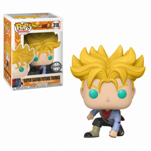 Funko Pop Super Saiyan Future Trunks-dragon ball super-318