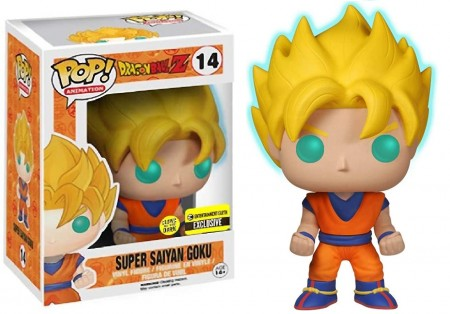 Funko Pop Super Saiyan Goku Gitd (entertainment Earth Exclusive)-Dragon Ball Z-14