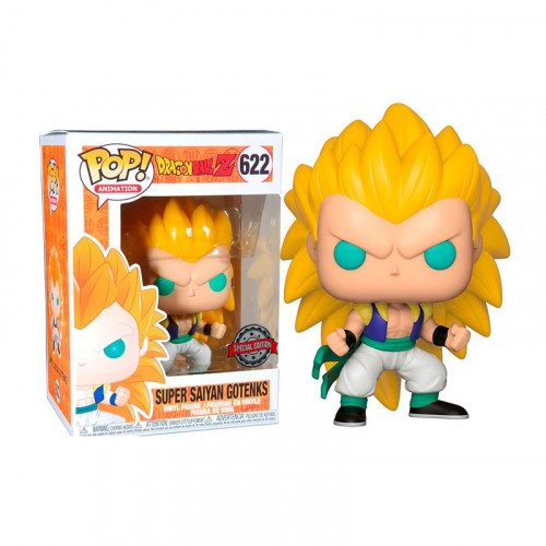 Funko Pop Super Sayan Gotenks-dragon ball Z-622