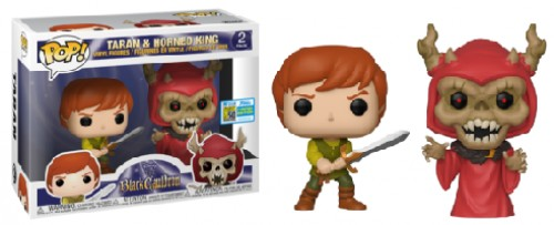 Funko Pop Taran And Horned King Sdcc-Funko-2