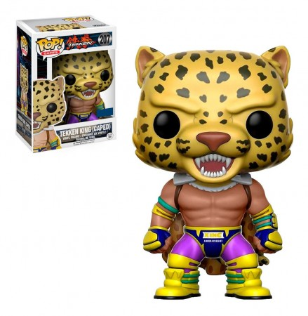 Funko Pop Tekken King (caped)-Tekken-207