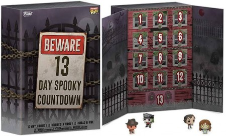Funko Pop Terror - Calendário Advent 13-day Spooky Countdown -Terror-13
