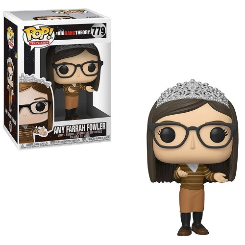 Funko Pop The Big Bang Theory Amy Farrah Fowler #779 Coroa - The Bing Bang Theory - #779