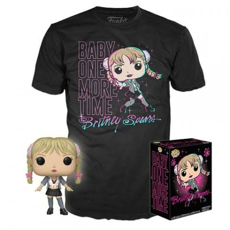 Funko Pop Box Britney Spears And Baby One  More Time 2018-Britney Spears-2018