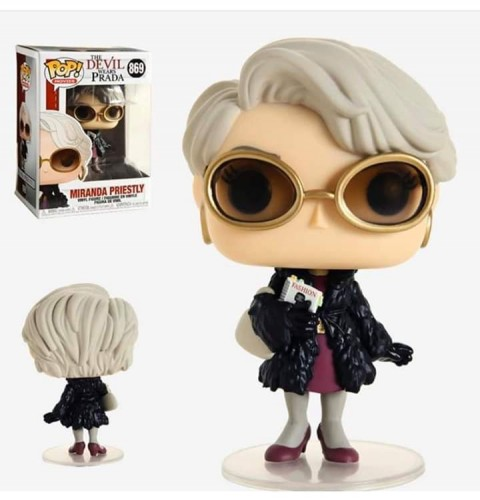 Funko Pop Filme - The Devil Wears Prada- Miranda Priestly 869-Devil Wears Prada-869