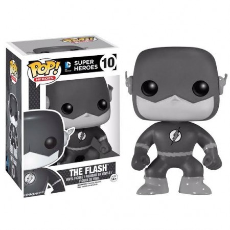 Funko Pop The Flash White E Black-DC Super Heroes-10