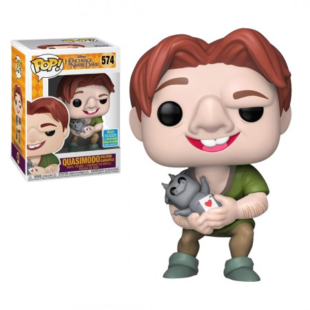 Funko Pop The Hunchback Of Notre Dame - Quasimodo Holding Gargoyle - Limited Edition-The Hunchback Of Notre Dame-574