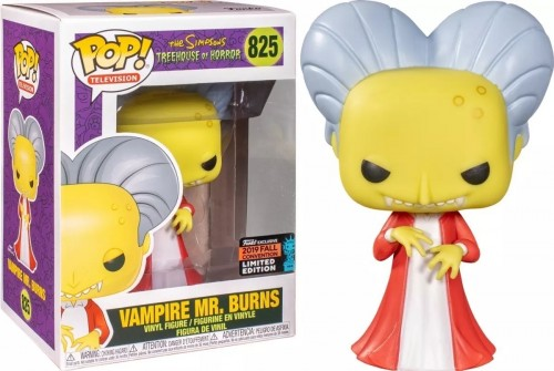 Funko Pop The Simpsons Treehouse Of Horror Nycc- Vampire Mr. Bunrs 825-The Simpsons-825