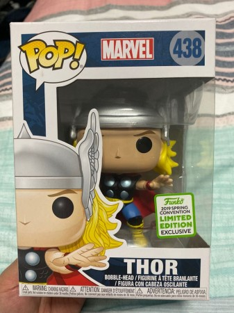 Funko Pop Thor Classic Spring Convention-Marvel Universe-438