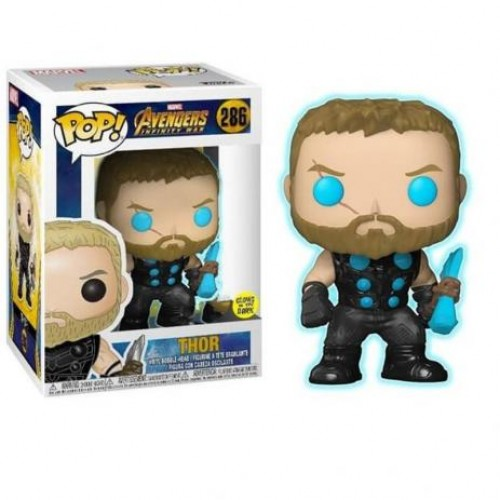 Funko Pop Thor Glow In The Dark Avengers-Avengers Infinity War-286
