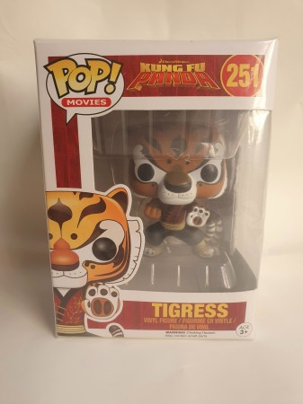 Funko Pop Tigress - Kung Fu Panda - #251