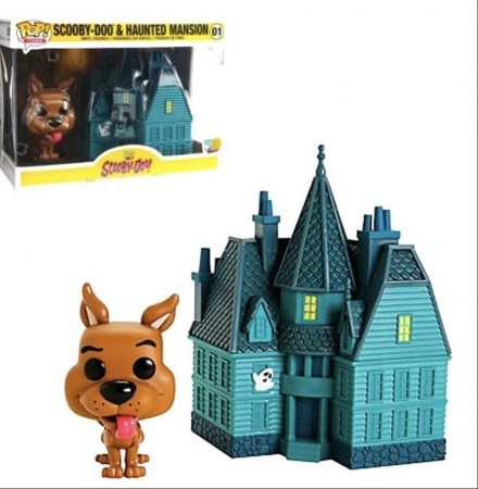 Funko Pop Town! Scooby-doo & Haunted Mansion-Scooby-Doo!-1