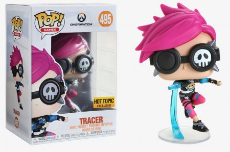 Funko Pop Tracer (hot Topic Exclusive)-Overwatch-495