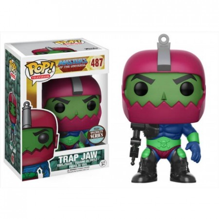 Funko Pop Trap Jaw-Mestres do Universo-487