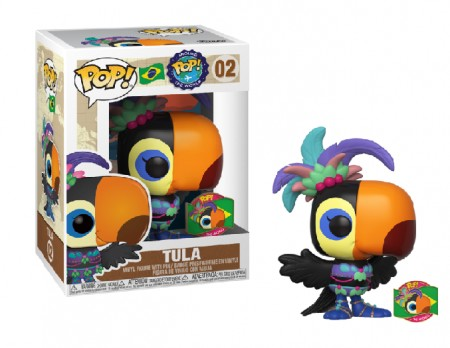 Funko Pop Tula Brazil (sem Passaporte)-Funko Around the World-1