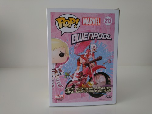 Funko Pop Unmasked Gwenpool Exclusivo Walgreens - marvel - #213