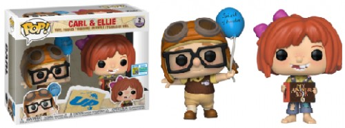 Funko Pop Up Carl And Ellie Sdcc-Funko-1