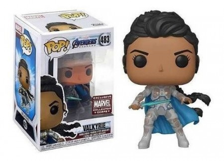 Funko Pop Valkyrie #483 Exclusivo Box Collector Corps-Avengers Endgame-483