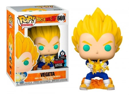 Funko Pop Vegeta Nycc-Dragon Ball-669