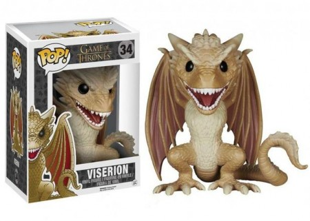Funko Pop Viserion Game Of Thrones-Game Of Thrones-34