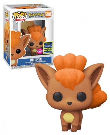 Funko Pop Vulpix #580 Flocado Pokemon Exclusivo Sscc 2020-SDCC 2020-580
