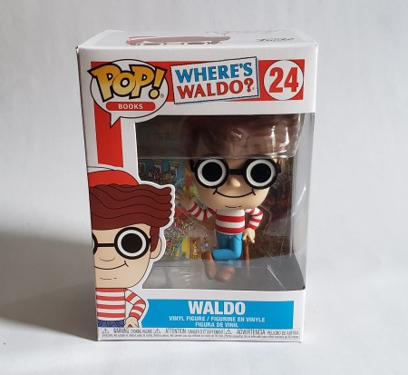 Funko Pop Waldo-Where's Waldo-24