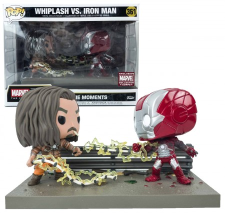 Funko Pop Whiplash Vs. Iron Man - Movie Moments - Movies - #361