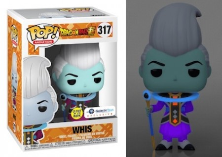 Funko Pop Whis Gitd (galactic Toys Exclusive)-Dragon Ball Z-317