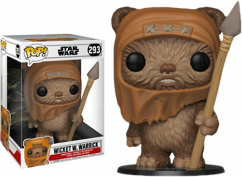 Funko Pop Wicket W. Warrick 10 Polegadas-Star Wars-293