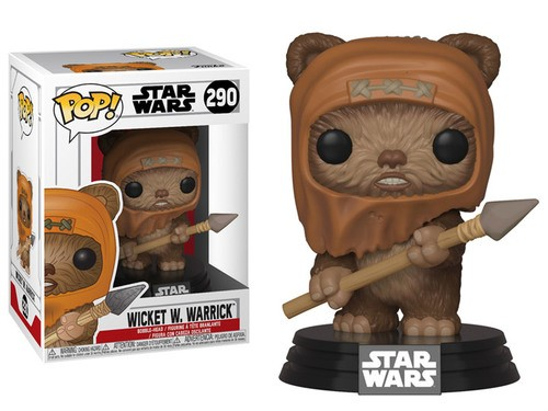 Funko Pop Wicket W. Warrick-Star Wars-290