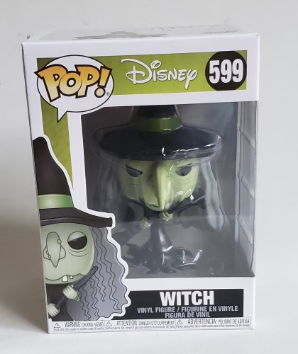 Funko Pop Witch The Nightmare Before Christmas Disney-The Nightmare Before Christmas-599