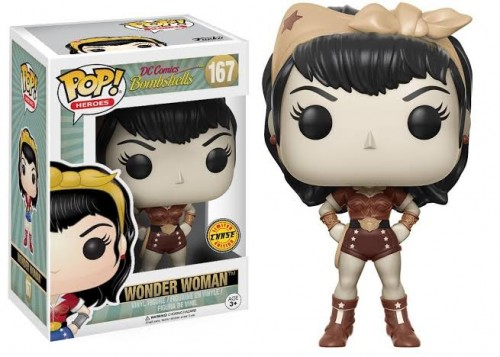 Funko Pop Wonder Woman - DC Bombshells - #167