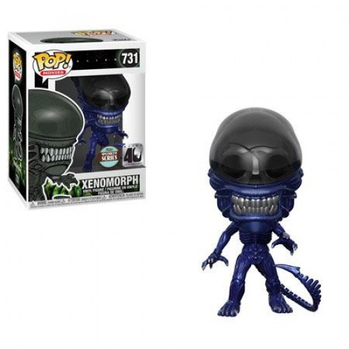 Funko Pop Xenomorph Blue Metallic Special Series-Alien-731