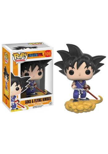 Funko Pop Goku And Nimbus-Dragon Ball-109