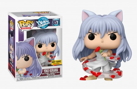 Funko Pop Yu Yu Hakusho Yoko Kurama Exclusivo Hot Topic - Yuyu Hakusho - #857
